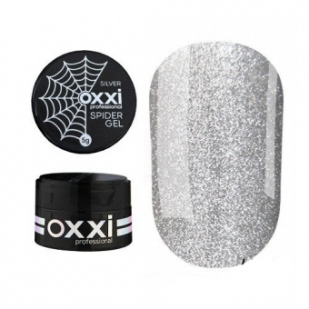 Oxxi Professional Spider Gel Silver Гель-паутинка серебро 5 гр